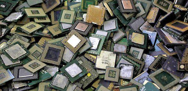 золото в микроэлектронике