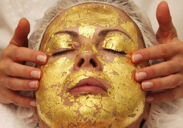 золотые маски для лица