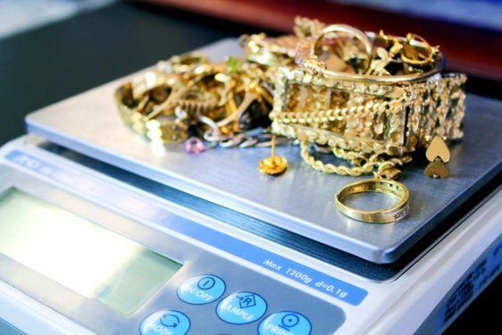 Определение пробы золота